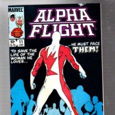 Cómics: ALPHA FLIGHT 11 - MARVEL 1984 FN/VFN / JOHN BYRNE. Lote 277423458