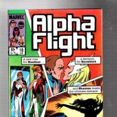Cómics: ALPHA FLIGHT 18 - MARVEL 1985 VG/FN / JOHN BYRNE. Lote 277423483