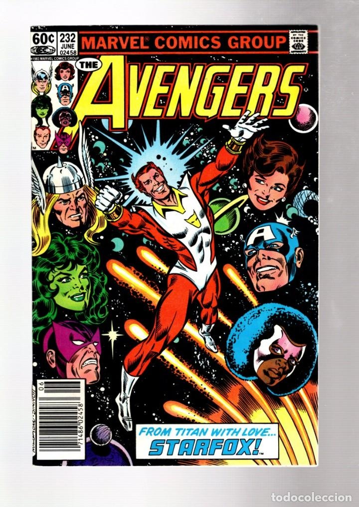 AVENGERS 232 - MARVEL 1983 VFN / STARFOX JOINS (Tebeos y Comics - Comics Lengua Extranjera - Comics USA)