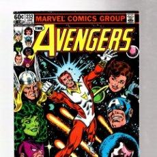 Cómics: AVENGERS 232 - MARVEL 1983 VFN / STARFOX JOINS. Lote 262530410