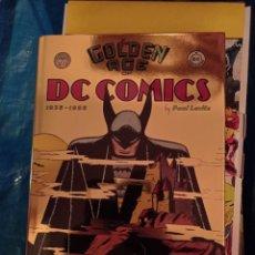 Cómics: J THE GOLDEN AGE OF DC COMICS 1935-1956, DE PAUL LEVITZ (TASCHEN) INGLES. Lote 262623440