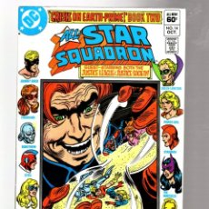 Cómics: ALL STAR SQUADRON 14 - DC 1982 VFN / JUSTICE LEAGUE & JUSTICE SOCIETY. Lote 262917280