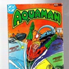 Cómics: AQUAMAN 59 - DC 1978 VG/FN / DAVID MICHELINIE. Lote 262918455