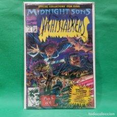 Cómics: NIGTHSTALKERS 1 - MARVEL 1992 / NM / MIDNIGHT SONS / EN BOLSA SIN ABRIR. Lote 263272715