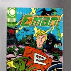 Cómics: E-MAN 3 - COMICO 1990 GD. Lote 263541015