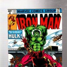 Cómics: IRON MAN 131 - MARVEL 1980 FN+ / IRON MAN & ANT-MAN VS HULK !. Lote 265205439