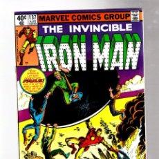 Cómics: IRON MAN 137 - MARVEL 1980 VFN. Lote 265206869