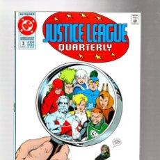 Cómics: JUSTICE LEAGUE QUARTERLY 3 - DC 1991 VFN / KEITH GIFFEN. Lote 287560978