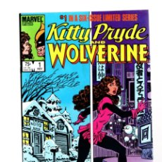 Cómics: KITTY PRYDE AND WOLVERINE 1 - MARVEL 1984 VFN+. Lote 265702824