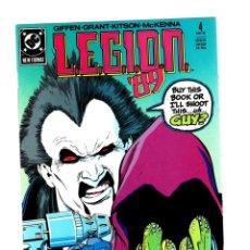 Comics: LEGION 4 - DC 1989 VFN/NM / KEITH GIFFEN / VS LOBO. Lote 265705334