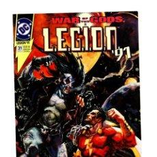Cómics: LEGION 31 - DC 1991 VFN/NM / LOBO VS SHAZAM / WAR OF THE GODS. Lote 265724534