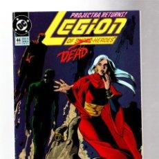 Comics : LEGION OF SUPER-HEROES 44 - DC 1993 VFN-. Lote 265952883