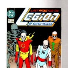 Comics : LEGION OF SUPER-HEROES 47 - DC 1993 VFN-. Lote 265953288