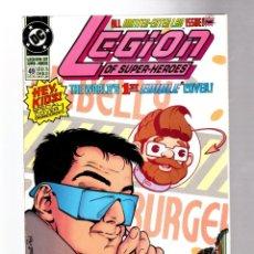 Comics : LEGION OF SUPER-HEROES 49 - DC 1993 FN/VFN. Lote 265953553