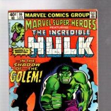 Cómics: MARVEL SUPER HEROES 86 / INCREDIBLE HULK 134 - MARVEL 1980 FR. Lote 266128808