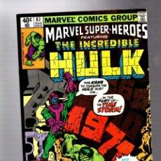 Cómics: MARVEL SUPER HEROES 87 / INCREDIBLE HULK 135 - MARVEL 1980 VFN / KANG. Lote 266129078