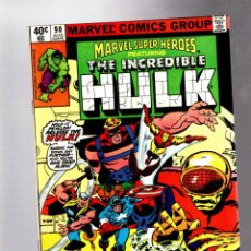 Cómics: MARVEL SUPER HEROES 90 / AVENGERS 88 - MARVEL 1980 VFN+ / HULK / HARLAN ELLISON & SAL BUSCEMA. Lote 266129843
