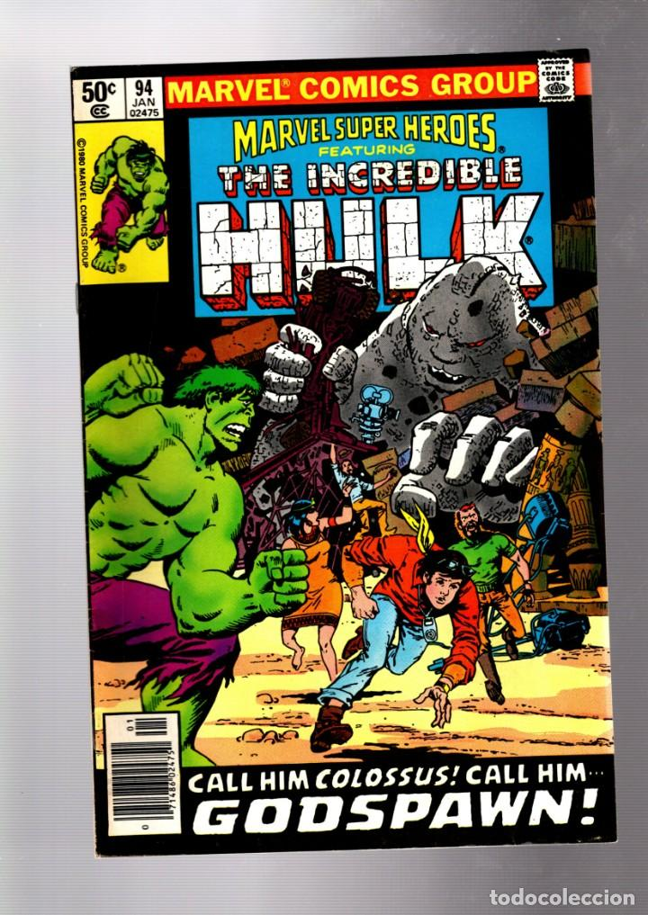 MARVEL SUPER HEROES 94 / INCREDIBLE HULK 145 - 1980 VFN+ (Tebeos y Comics - Comics Lengua Extranjera - Comics USA)