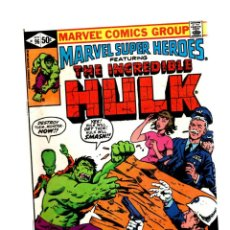 Cómics: MARVEL SUPER HEROES 96 / INCREDIBLE HULK 147 - 1980 FN/VFN. Lote 266206103