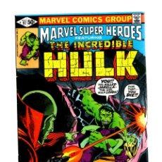 Cómics: MARVEL SUPER HEROES 97 / INCREDIBLE HULK 148 - 1981 VFN- / DEATH OF JARELLA. Lote 266206408