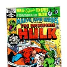 Cómics: MARVEL SUPER HEROES 103 / INCREDIBLE HULK 155 - 1981 FN. Lote 266207823