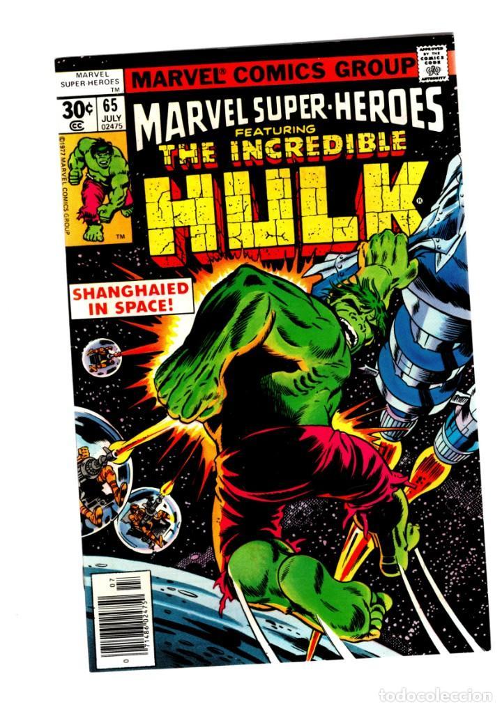 MARVEL SUPER HEROES 65 / INCREDIBLE HULK 111 - MARVEL 1977 VFN+ / KA-ZAR (Tebeos y Comics - Comics Lengua Extranjera - Comics USA)