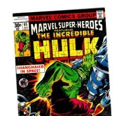 Cómics: MARVEL SUPER HEROES 65 / INCREDIBLE HULK 111 - MARVEL 1977 VFN+ / KA-ZAR. Lote 266211783