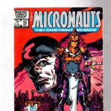 Cómics: MICRONAUTS 52 - MARVEL 1983 VFN. Lote 266543363