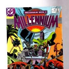 Cómics: MILLENNIUM 3 - DC 1987 VFN. Lote 266544233