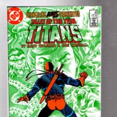 Comics: NEW TEEN TITANS 55 TALES OF - DC 1985 VFN/NM MARV WOLFMAN & RON RANDALL / CHANGELING VS DEATHSTROKE. Lote 266561148