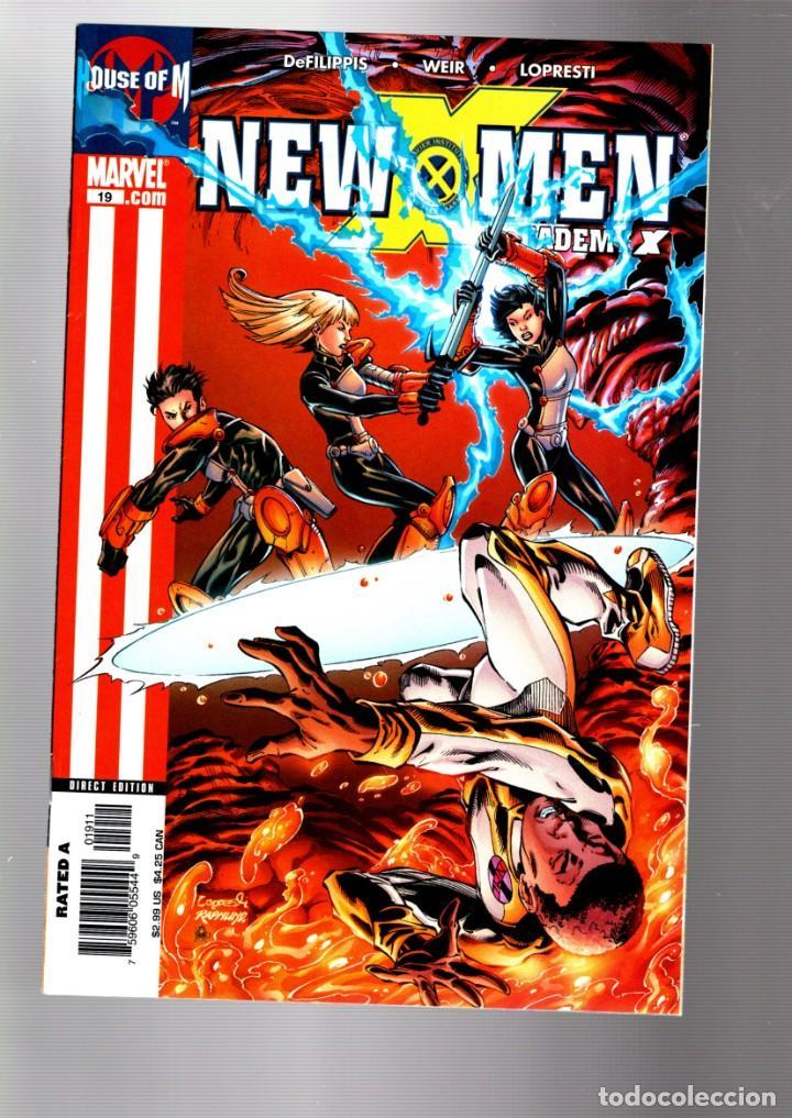 NEW X-MEN 19 - MARVEL 2005 VFN/NM / HOUSE OF M (Tebeos y Comics - Comics Lengua Extranjera - Comics USA)