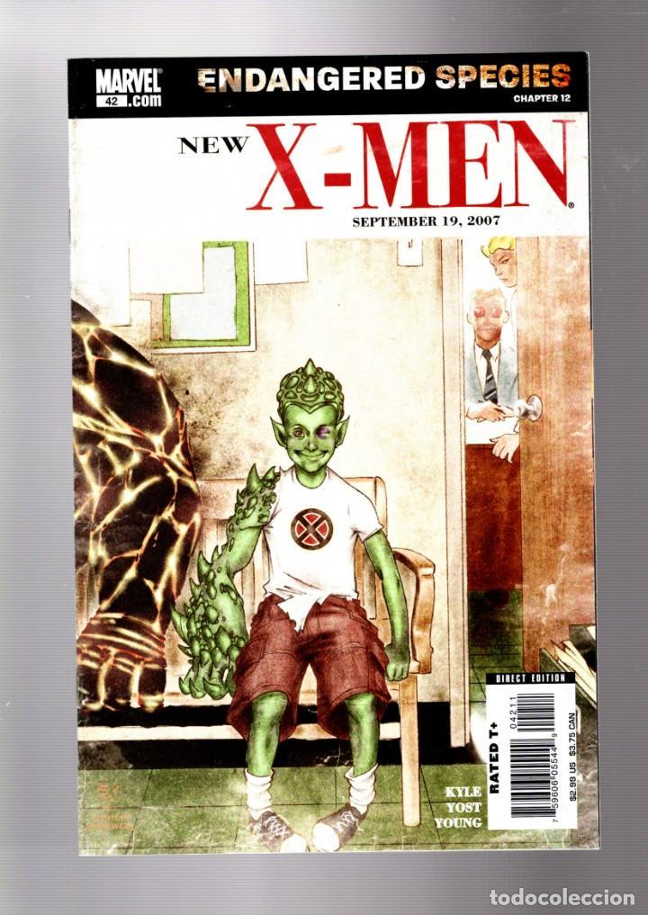 NEW X-MEN 42 - MARVEL 2007 VFN / ENDANGERED SPECIES (Tebeos y Comics - Comics Lengua Extranjera - Comics USA)