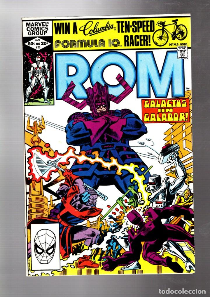 ROM SPACEKNIGHT 26 - MARVEL 1982 VFN / GALACTUS ON GALADOR (Tebeos y Comics - Comics Lengua Extranjera - Comics USA)