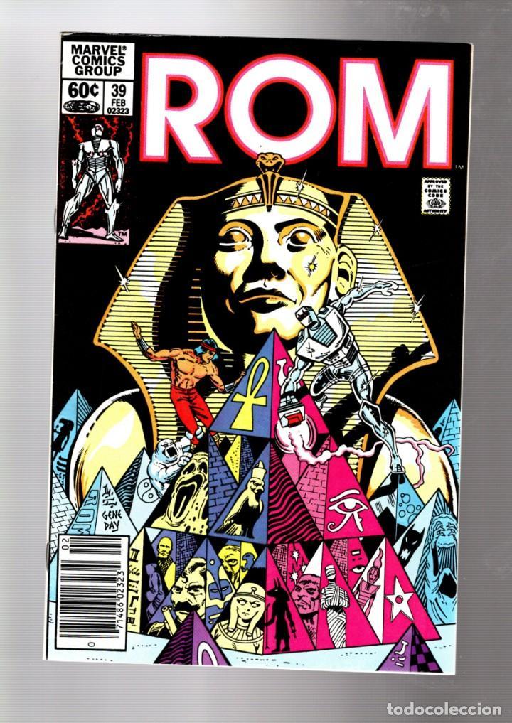 ROM SPACEKNIGHT 39 - MARVEL 1983 VFN- / BILL MANTLO & SAL BUSCEMA / SHANG CHI MASTER OF KUNG FU (Tebeos y Comics - Comics Lengua Extranjera - Comics USA)