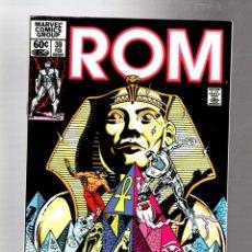 Cómics: ROM SPACEKNIGHT 39 - MARVEL 1983 VFN- / BILL MANTLO & SAL BUSCEMA / SHANG CHI MASTER OF KUNG FU. Lote 266774034