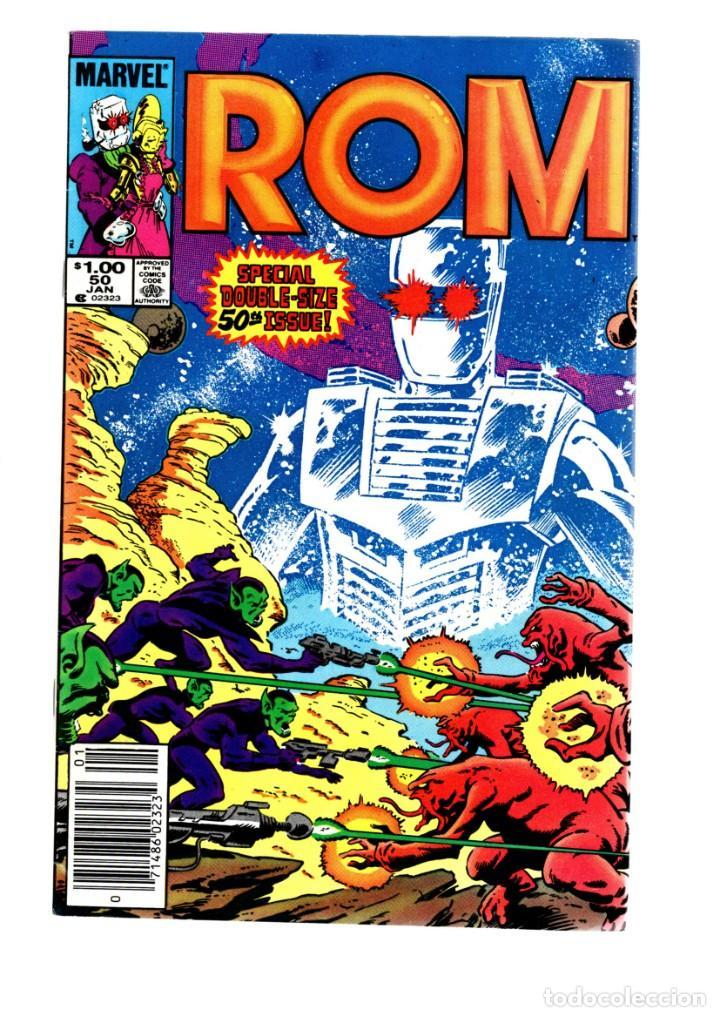 ROM SPACEKNIGHT 50 - MARVEL 1983 VFN GIANT SIZE ANNIVERSARY / X-MEN, DR STRANGE, POWERMAN... (Tebeos y Comics - Comics Lengua Extranjera - Comics USA)