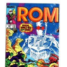 Cómics: ROM SPACEKNIGHT 50 - MARVEL 1983 VFN GIANT SIZE ANNIVERSARY / X-MEN, DR STRANGE, POWERMAN.... Lote 266839714