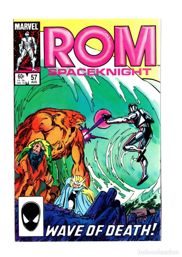 ROM SPACEKNIGHT 57 - MARVEL 1984 VFN/NM / BILL MANTLO & SAL BUSCEMA / ALPHA FLIGHT (Tebeos y Comics - Comics Lengua Extranjera - Comics USA)