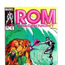 Cómics: ROM SPACEKNIGHT 57 - MARVEL 1984 VFN/NM / BILL MANTLO & SAL BUSCEMA / ALPHA FLIGHT. Lote 266841794