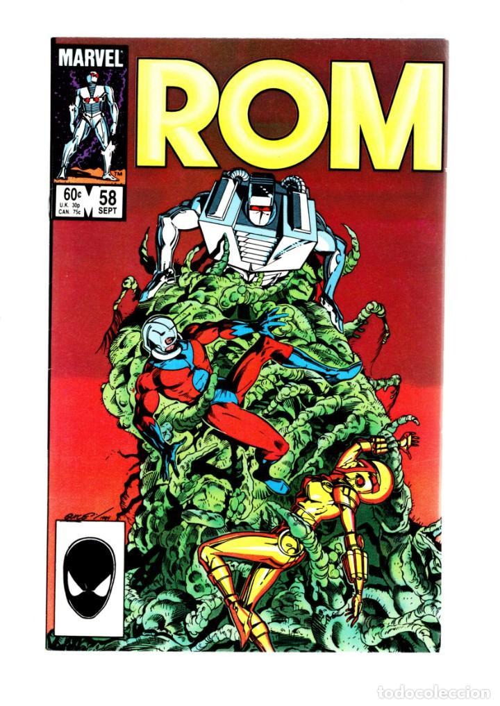 ROM SPACEKNIGHT 58 - MARVEL 1984 VFN/NM / BILL MANTLO & SAL BUSCEMA / ANT-MAN (Tebeos y Comics - Comics Lengua Extranjera - Comics USA)