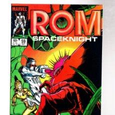 Cómics: ROM SPACEKNIGHT 59 - MARVEL 1984 VFN/NM / BILL MANTLO & STEVE DITKO / ANT-MAN. Lote 266844739