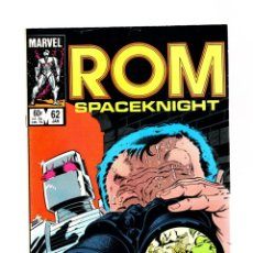 Cómics: ROM SPACEKNIGHT 62 - MARVEL 1985 VFN / BILL MANTLO & STEVE DITKO / X-MEN'S FORGE. Lote 266845509