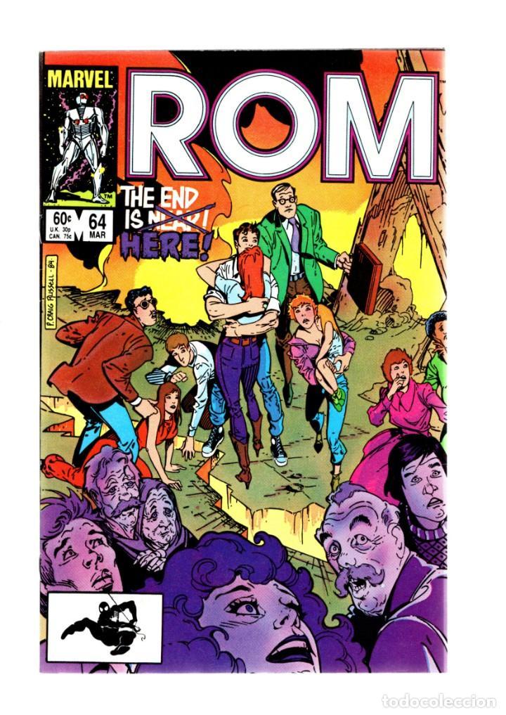 ROM SPACEKNIGHT 64 - MARVEL 1985 VFN+ / BILL MANTLO & STEVE DITKO / THE END IS HERE (Tebeos y Comics - Comics Lengua Extranjera - Comics USA)