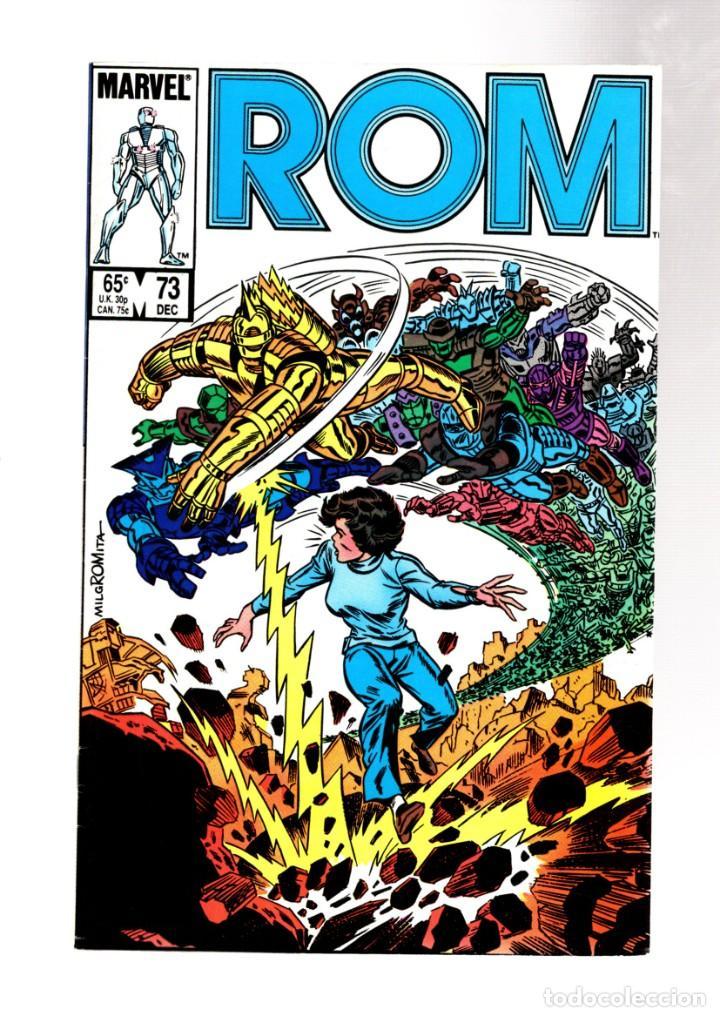 ROM SPACEKNIGHT 73 - MARVEL 1985 VFN / BILL MANTLO & STEVE DITKO (Tebeos y Comics - Comics Lengua Extranjera - Comics USA)