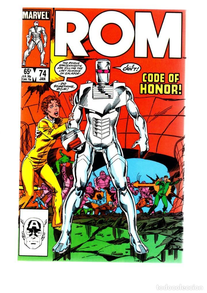 ROM SPACEKNIGHT 74 - MARVEL 1986 VFN/NM / BILL MANTLO, STEVE DITKO & JOHN BYRNE (Tebeos y Comics - Comics Lengua Extranjera - Comics USA)