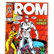Cómics: ROM SPACEKNIGHT 74 - MARVEL 1986 VFN/NM / BILL MANTLO, STEVE DITKO & JOHN BYRNE. Lote 266847869