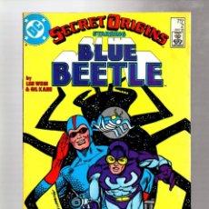 Cómics: SECRET ORIGINS 2 - DC 1986 VG/FN / BLUE BEETLE / LEN WEIN & GIL KANE. Lote 266997739