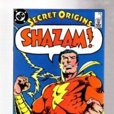 Cómics: SECRET ORIGINS 3 - DC 1986 VFN / SHAZAM THE ORIGINAL CAPTAIN MARVEL. Lote 266997929