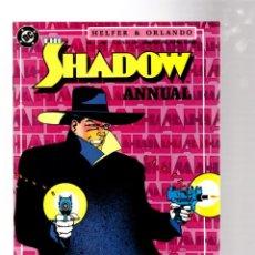 Fumetti: SHADOW ANNUAL 1 - DC 1987 VFN+ / ANDREW HELFER & JOE ORLANDO. Lote 267191099