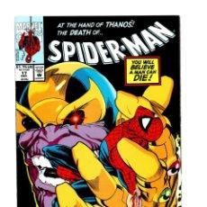 Comics: SPIDER-MAN 17 - MARVEL 1991 VFN/NM / NOCENTI & LEONARDI / VS THANOS / INFINITY GAUNTLET. Lote 267323069